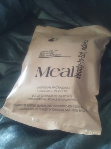 Beef Roast with Vegetables MRE